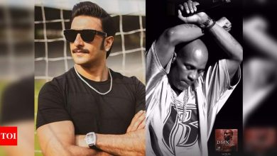 Ranveer Singh mourns the demise of rapper DMX; shares a post on Instagram - Times of India