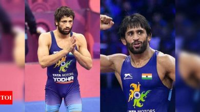 Ravi retains Asian Wrestling Championships title, Bajrang settles for silver after withdrawing from final due to injury | More sports News - Times of India