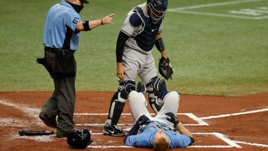 Rays won't let Yankees' bean-ball spree go: 'See where it goes from here'