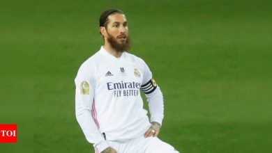 Real Madrid's Sergio Ramos tests positive for COVID-19   Football News - Times of India