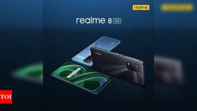 Realme 8 5G, Relame 8 Pro 5G to launch in India on April 22 - Times of India