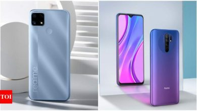 Realme C25 vs Xiaomi Redmi 9 Prime: How the two gaming phones under Rs 10,000 compare - Times of India