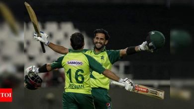 Red-hot Rizwan leads Pakistan to T20 victory over South Africa | Cricket News - Times of India