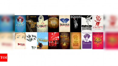 Rejected Broadway posters on sale to help theater community - Times of India