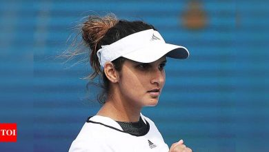 Remember, the pressure is on Latvia, Sania Mirza tells Team India   Tennis News - Times of India