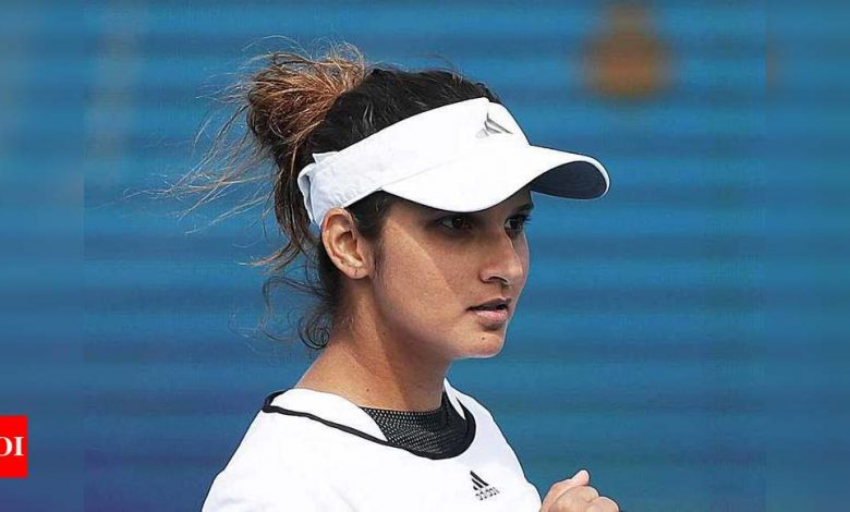 Remember, the pressure is on Latvia, Sania Mirza tells Team India | Tennis News - Times of India