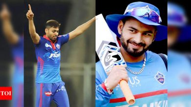 Rishabh Pant:  IPL 2021: Rishabh Pant's batting has always been an X-factor, but he is also an aggressive captain, says Avesh Khan   Cricket News - Times of India