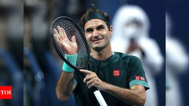 Roger Federer poised for clay return in Madrid   Tennis News - Times of India