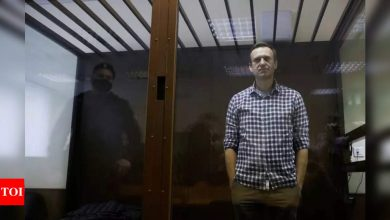 Russia sentences Navalny ally over threat to alleged agent - Times of India