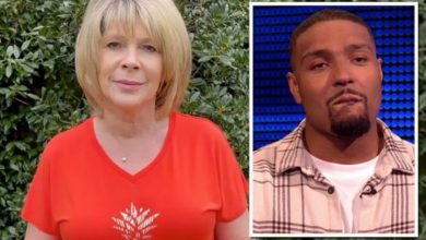 Ruth Langsford asked to 'forgive' Jordan Banjo after question about her on ITV's The Chase