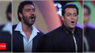 Salman Khan has the sweetest birthday wish for Ajay Devgn - Times of India