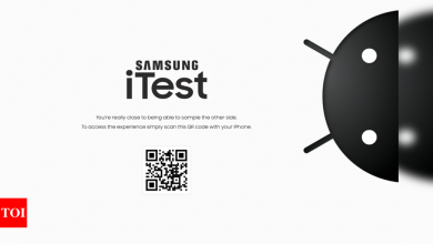 Samsung launches app that turns iPhone into Galaxy devices - Times of India