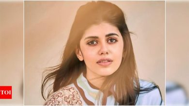 Sanjana Sanghi: There is so much brilliance around me that I feel motivated to do even better - Times of India