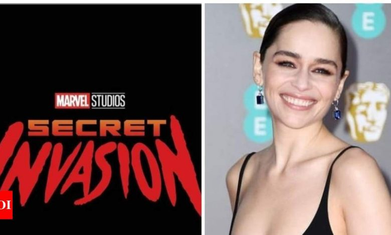 'Secret Invasion': Emilia Clarke confirms she has joined the cast of upcoming Marvel series - Times of India