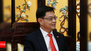 Singapore's designated future leader Heng Swee Keat steps aside - Times of India