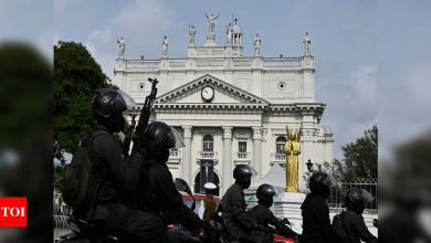 Sri Lanka tightens church security ahead of Easter - Times of India