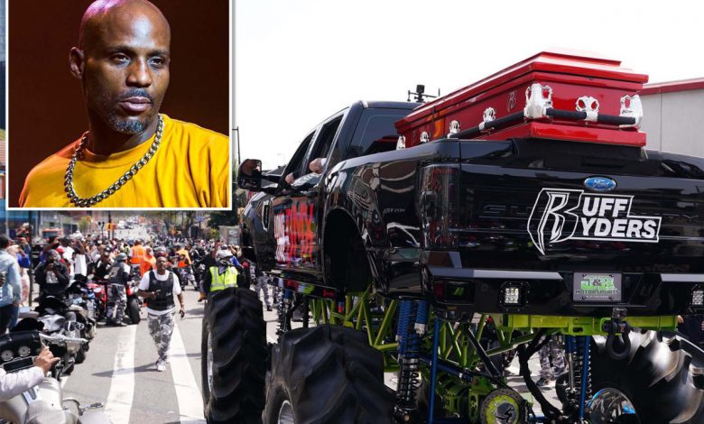 Star-studded 'Celebration of Life' for rapper DMX kicking off in Brooklyn
