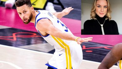 Steph Curry breaks out airplane celebration after reporter's Twitter plea