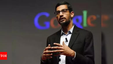 Sundar Pichai says Google to contribute Rs 135 crore for Covid-19 fight in India - Times of India