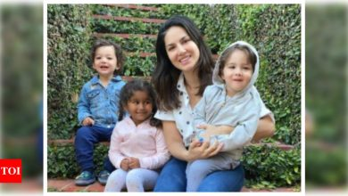 Sunny Leone opens up about being a working mother, says she is no different than anybody else who has children - Times of India