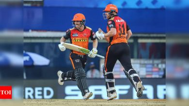 Sunrisers Hyderabad:  IPL 2021: VVS Laxman 'disappointed' with nature of tracks in Chennai | Cricket News - Times of India