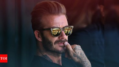 Super League:  Manchester United greats Beckham, Cantona oppose Super League plans | Football News - Times of India
