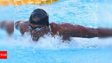 Swimmer Sajan Prakash bags gold but misses out on Olympic 'A' cut | More sports News - Times of India