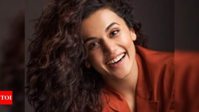 Taapsee Pannu reveals why she stayed on Twitter regardless of being 'toxic' - Times of India