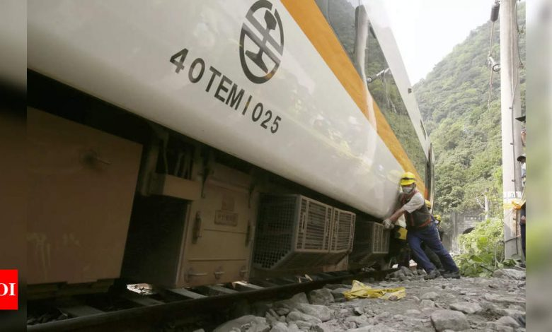 Taiwan train crash survivors recount horror and loss - Times of India