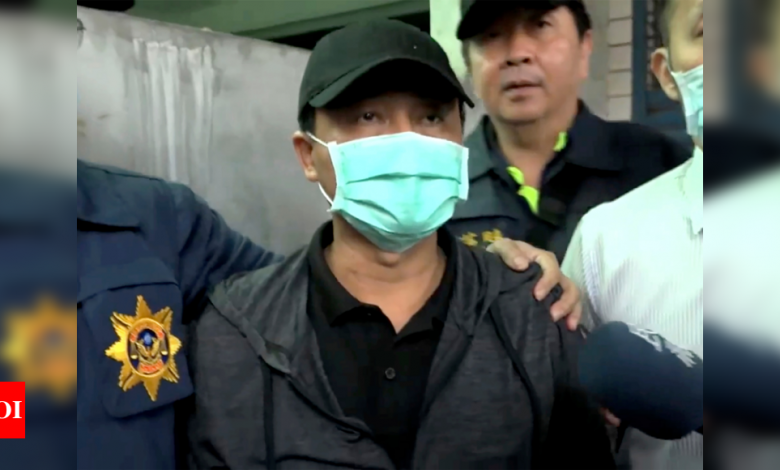 Taiwan truck driver charged with negligent homicide over rail crash - Times of India