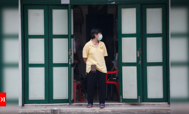 Thailand imposes fines of up to $640 for not wearing masks - Times of India
