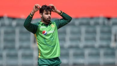 Toe injury puts Shadab Khan out of remainder of Pakistan's tour of Africa