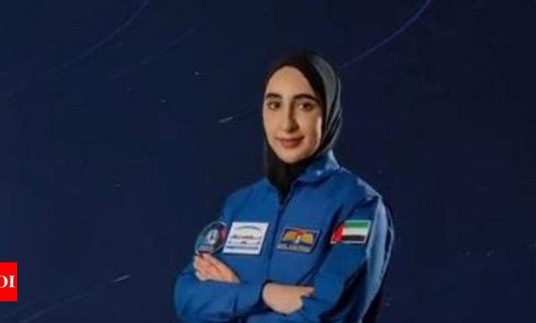 UAE selects first Arab woman for astronaut training - Times of India