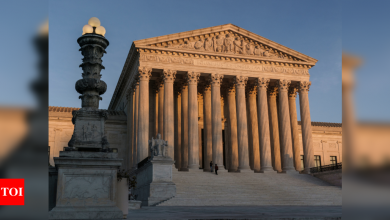 US Supreme Court brings end to another Republican election challenge - Times of India