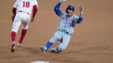Uninspired Mets fall to Phillies in early-season dud