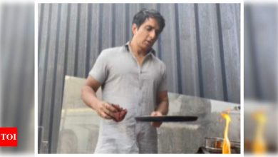 Watch: Sonu Sood shares tips on how to make perfect dosa at home - Times of India
