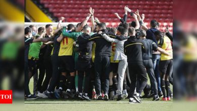 Watford seal Premier League promotion with victory over Millwall | Football News - Times of India
