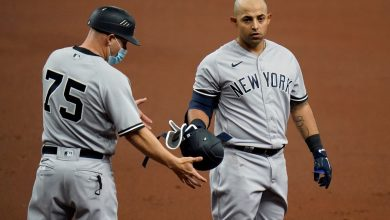 Yankees snap skid against Rays with Rougned Odor's clutch debut