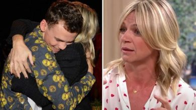 Zoe Ball talks lack of contact with son amid long distance relationship 'I never know!'