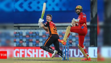 ipl 2021:  IPL 2021, PBKS vs SRH: Sunrisers Hyderabad finally pull off a chase to beat Punjab Kings | Cricket News - Times of India