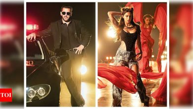 'Radhe: Your Most Wanted Bhai' title track: The peppy song featuring Salman Khan and Disha Patani is a treat for their fans - Times of India