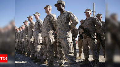Formal start of final phase of Afghan pullout by US, NATO - Times of India