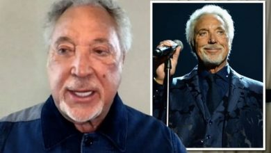 Tom Jones hits back at suggestion his new album Surrounded By Time is just 'covers'