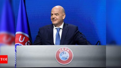 Gianni Infantino urges restraint in punishing Super League clubs | Football News - Times of India