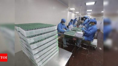 US supplies of vaccine components to India to enable manufacturing of two crore doses of Covishield | India News - Times of India