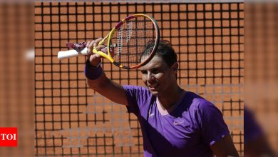 Nadal makes Madrid last eight as Barty eases into women's final   Tennis News - Times of India