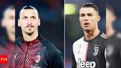 Cristiano Ronaldo and Zlatan Ibrahimovic face off in battle for Champions League spot | Football News - Times of India