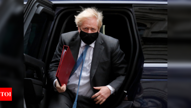 UK PM Boris Johnson's party win election for parliament seat - Times of India
