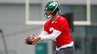 Jets get first look at Zach Wilson during rookie minicamp