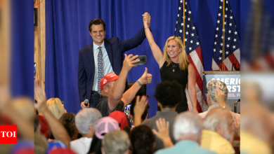 Matt Gaetz, Marjorie Taylor Greene take mantle of Donald Trump's populism at rally - Times of India